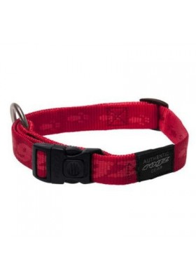 COLLIER ALPINIST ROUGE 40 MM