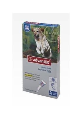 ADVANTIX  GRAND CHIEN  4 PIP