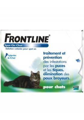 FRONTLINE CHAT Spot On 4 PIPETTES