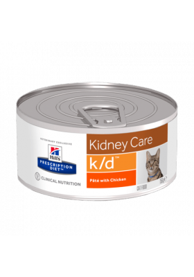Hill's Prescription Diet k/d Feline POULET 24x156g