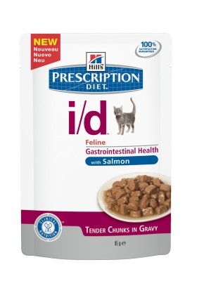 Hill's Prescription Diet i/d Feline saumon 12X85 GR