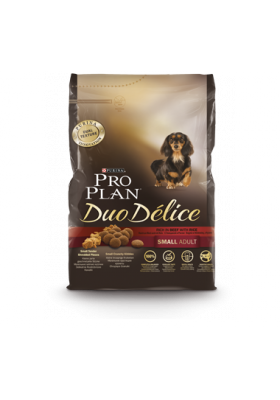 ProPlan DOG DUO DELICE SMALL ADULT BOEUF 2,5 Kg