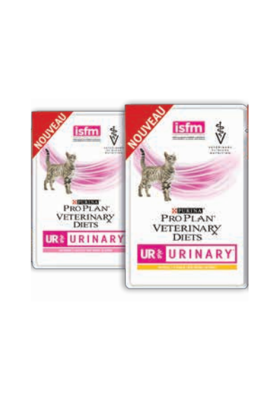 Purina Pro Plan Veterinary Diets Chat UR St/Ox Urinary Salmon 10X85G