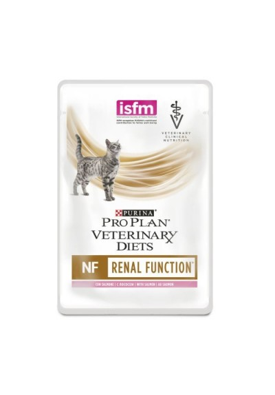 Purina Pro Plan Veterinary Diets Chat NF RENAL FUNCTION SALMON Pochons10X85G