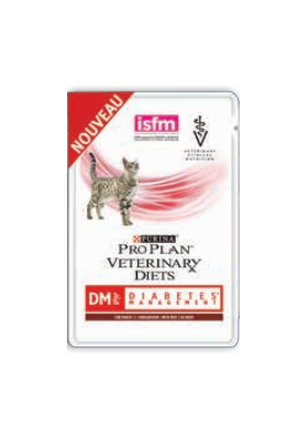 Purina Pro Plan Veterinary Diets Chat DM St/Ox DIABETE BEEF10X85G