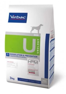 Veterinary HPM Chien UROLOGY DISSOLUTION ET PREVENTION 3Kg