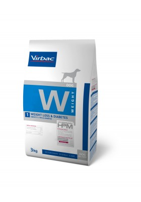 Veterinary HPM Chien W WEIGHT LOSS&DIABETES 3KG