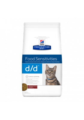 Hill's Prescription Diet d/d Feline Duck & Greenpea 1,5Kg