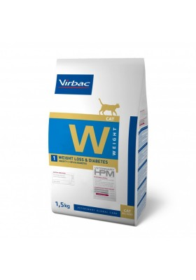 Veterinary HPM Chat W1 WEIGHT LOSS & DIABETES 1,5KG