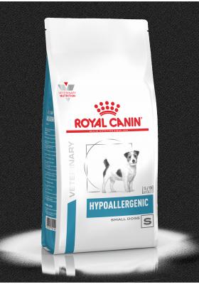 Veterinary Health Nutrition Chien Small Hypoallergenic 1Kg
