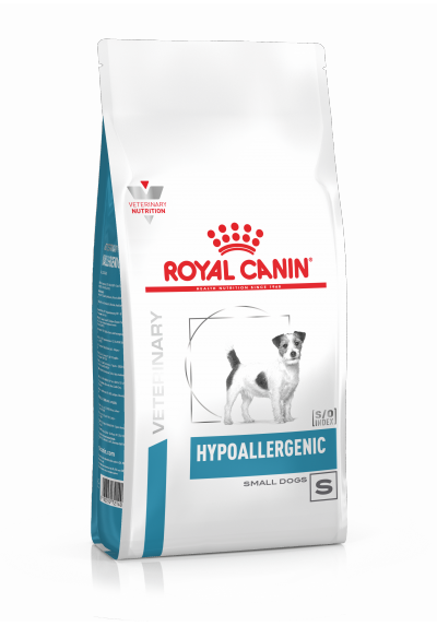 Veterinary Health Nutrition Chien Small Hypoallergenic 1Kg