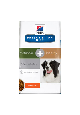 Hill's Prescription Diet Canine METABOLIC+MOBILITY 12KG