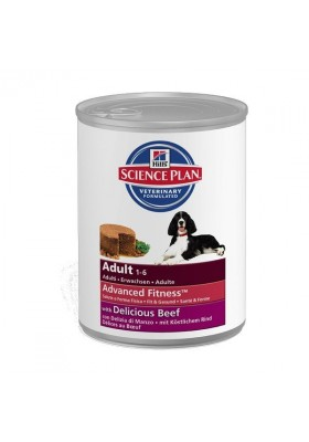 Hill's Science Plan Canine Adult All Breeds Boeuf 12x370g