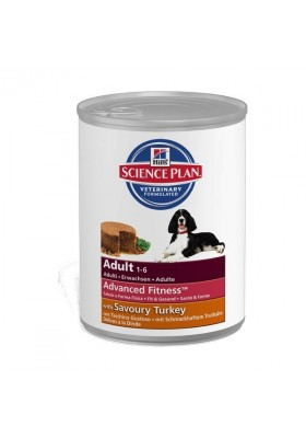 Hill's Science Plan Canine Adult All Breeds Dinde 12x370g