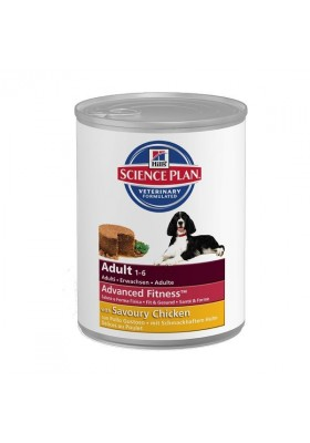 Hill's Science Plan Canine Adult All Breeds Poulet 12x370g
