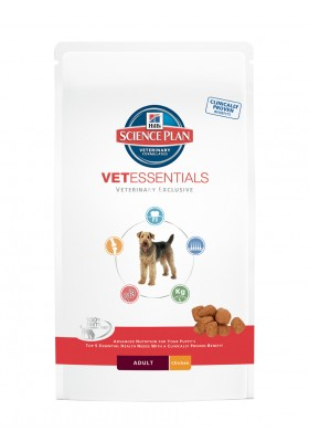 Hill's Science Plan Vetessentials canine Adult 10Kg