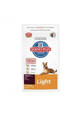 Hill's Science Plan Canine Adult Light 3Kg