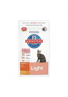 Hill's Science Plan™ Feline Adult Light Poulet 10Kg