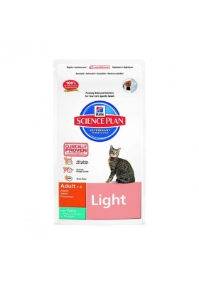 Hill's Science Plan™ Feline Adult Light Thon 1,5Kg