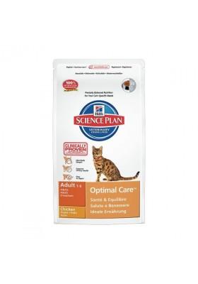 Hill's Science Plan Feline Adult Optimal Care Poulet 2Kg