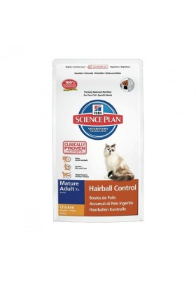 Hill's Science Plan™ Feline Mature Adult 7+ Hairball Control 1,5Kg