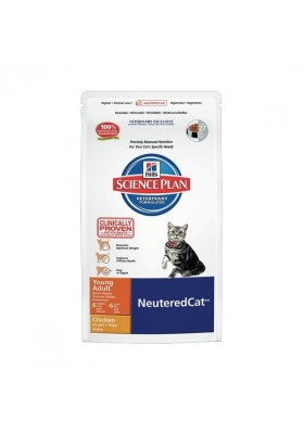 Hill's Science Plan™ Feline Young Adult NeuteredCat Poulet 8Kg