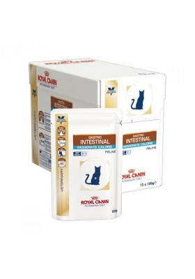 Royal Canin VDiet Cat Gastro Intestinal Moderate Calorie 12x100g