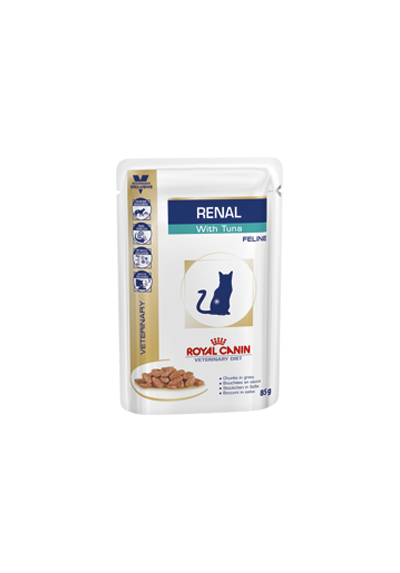Royal Canin VDiet Cat Renal thon 12X85G