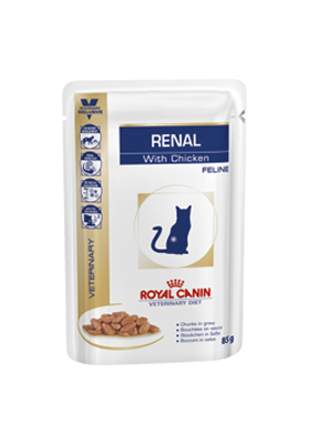 Royal Canin VDiet Cat Renal  poulet 12X85G