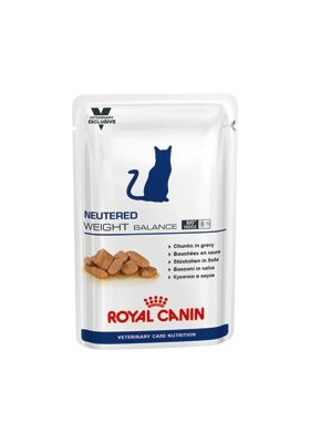 ROYAL CANIN VetCare feline NEUTERED WEIGHT 12X100 GR